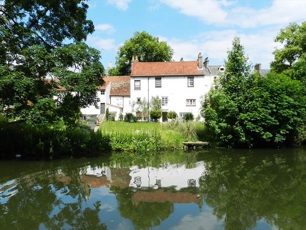 House on the River Cam by Arthur Woodward