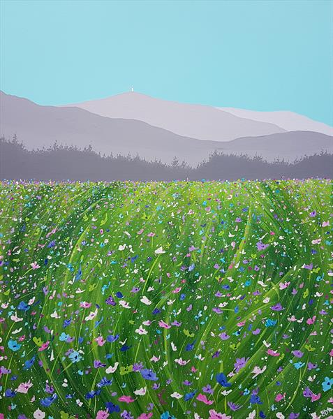 Meadow to Mont Ventoux, France by Sam Martin