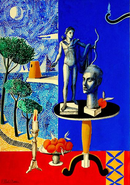 Still-Life With Apollo II by Paul Rossi