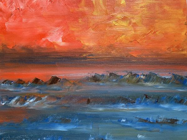 Red planet by Clare Riley