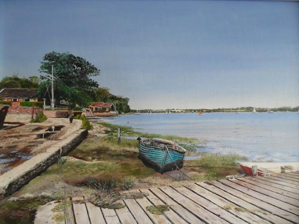 River Orwell. by Philip Smith