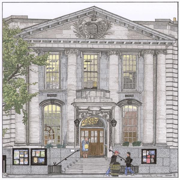 Chelsea Town Hall London by Ronald Cooper