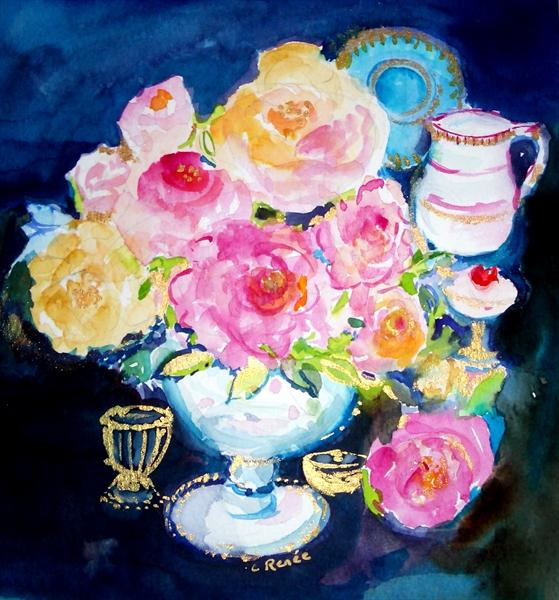 English Roses by Carol Renee