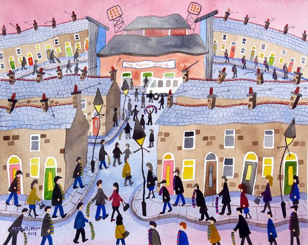 Saturday Afternoon (In A Northern Town) by Martin Whittam