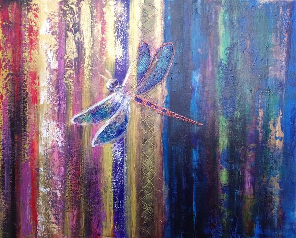 Into the Light, Dragonfly by Eva Hunt