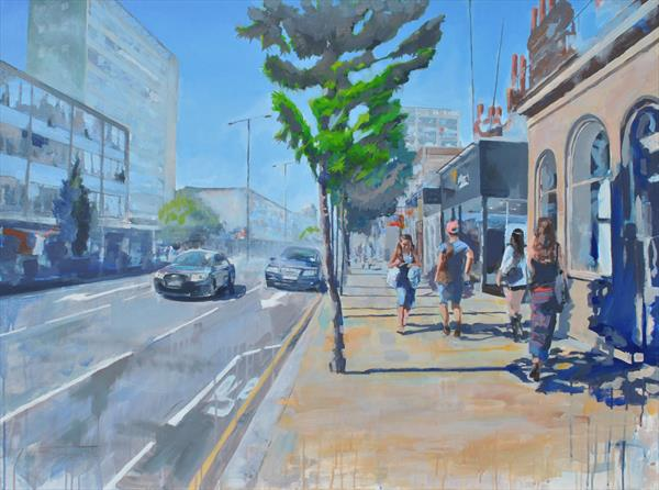 Notting Hill Gate London  by Peter Mcquillan