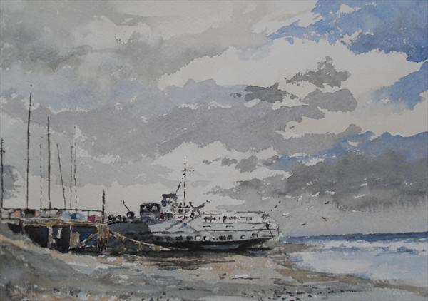 Former HMS Wilton at Leigh On Sea by Gerry Ludlow