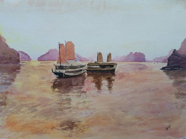 Tranquillity by Sue  Mobbs