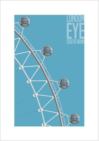London Eye, South Bank, London by Charlie Edwards