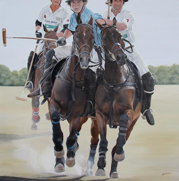 Riding Off by Sally Lancaster