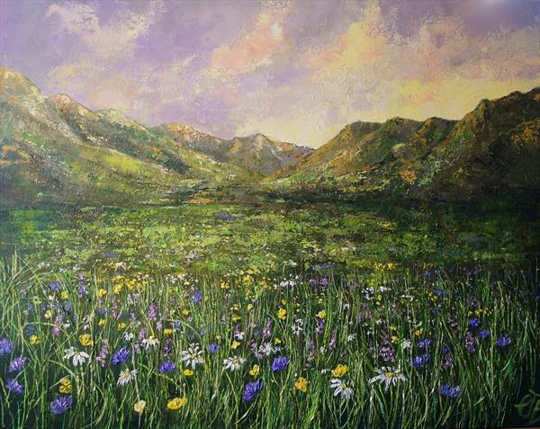 Mountain Meadow  by Colette Baumback
