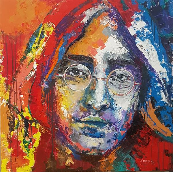 John Lennon. The Beatles by Lena Ivanova