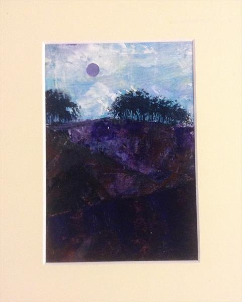 The violet dusk of the Moor