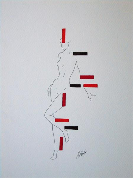 Human figure and form number 1 by Daniel Shipton