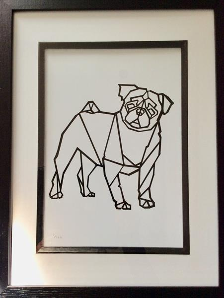 Pug by sharon coles