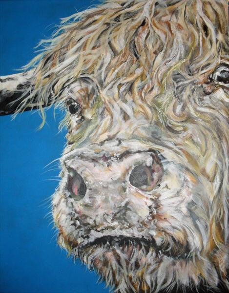 Woolly Bully (On display at The Art Gallery, Tetbury)