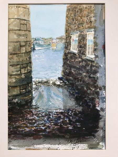 Harbour view of St Mary's, Scilly by Peter Blake