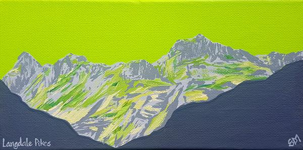 Langdale Pikes, The Lake District (mini) by Sam Martin