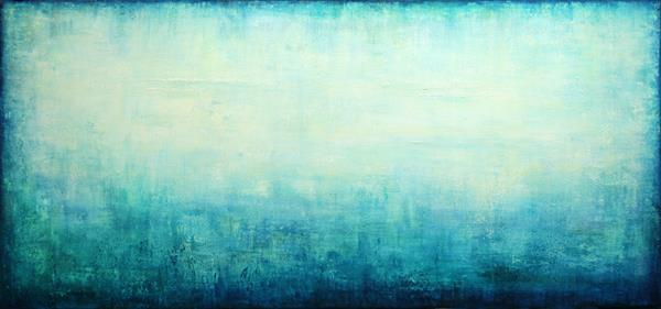 Turquoise Dream III by Behshad Arjomandi