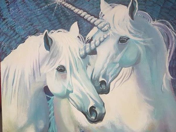 UNICORNS by Shirley Wright