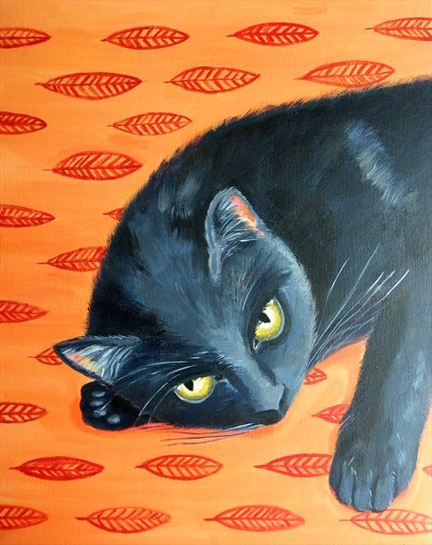 Black Cat by Mary Stubberfield