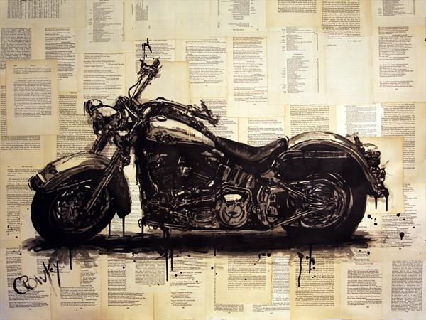 Harley Davidson by darren crowley