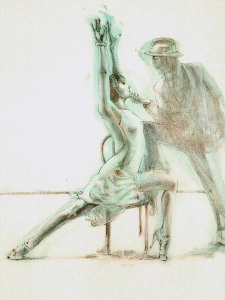 Midnight Tango (Study 8) by Charles Willmott