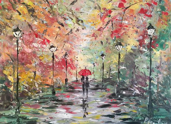 Change of seasons at the park by Pippa Buist