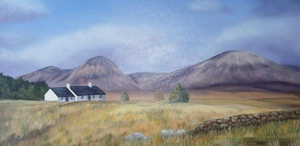 Black Rock Cottage, Glen Coe by Kerri Nathwani