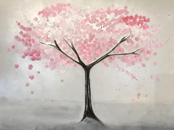 Cherry Blossom Tree by Kerry Bowler