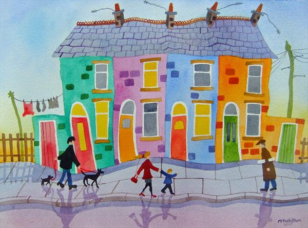 Arkwright Terrace by Martin Whittam