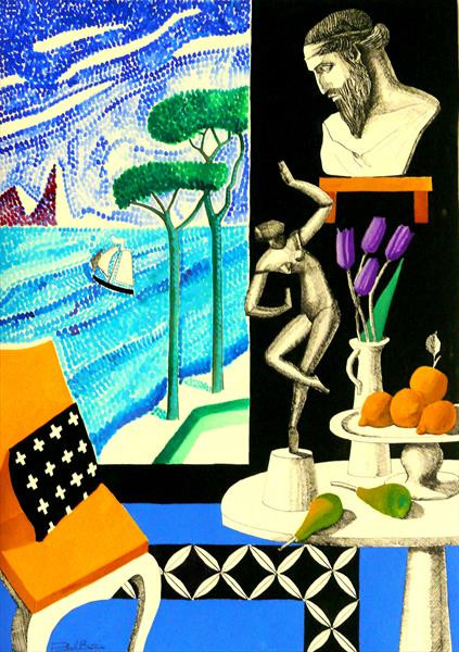 Still-Life With Dionysus and Ariadne by Paul Rossi