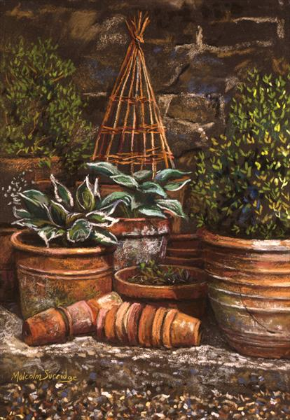 Gardener's Corner by Malcolm Surridge