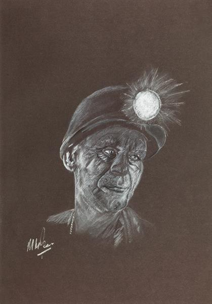 Welsh Miner by Mike Isaac
