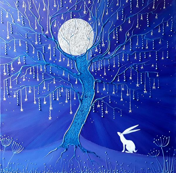 The hare and the Moon Tree by Angie Livingstone