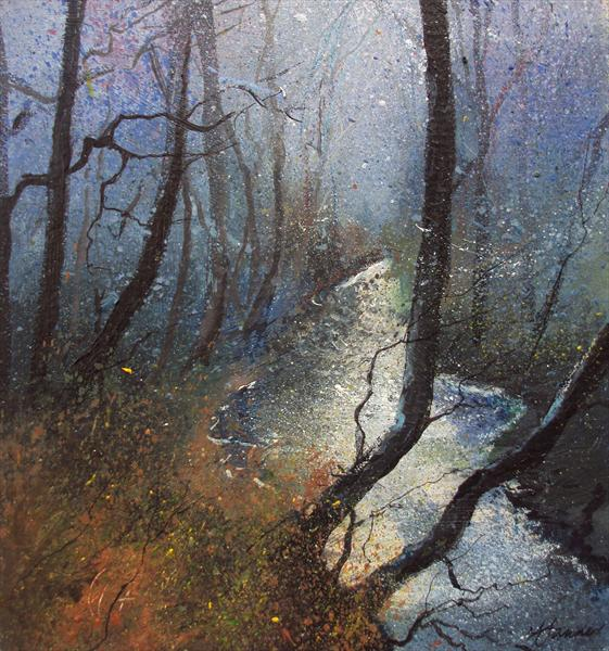 Woodland River, Trees