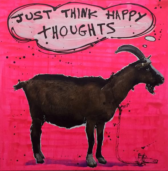 Just think happy thoughts by Keith Mcbride