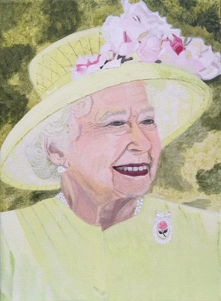 The Queen by Janet Welsby