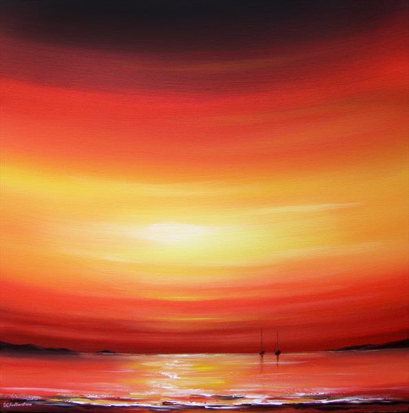 Sunset Sky by Sarah Featherstone