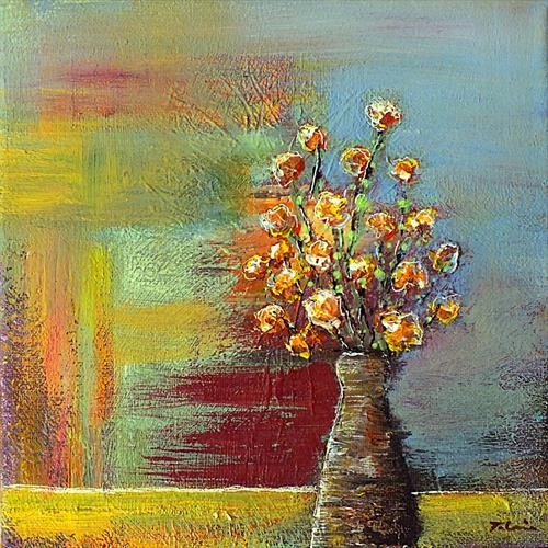 Vase of Flowers by Tracey Unwin