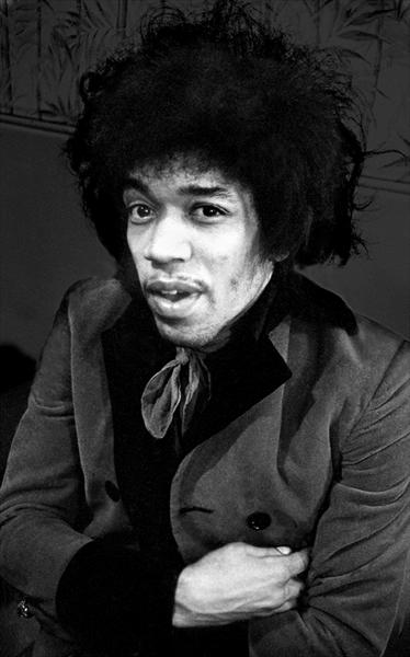 Jimi Hendrix 1967 by Paul Berriff