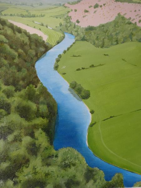The Wye Valley by Roger Carrington