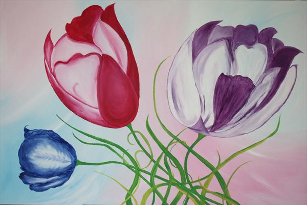 Colours of Tulip (On Reserve) by Shital Bhudia