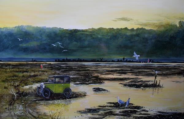 A Stroll In The Marshes by Rod Buckingham