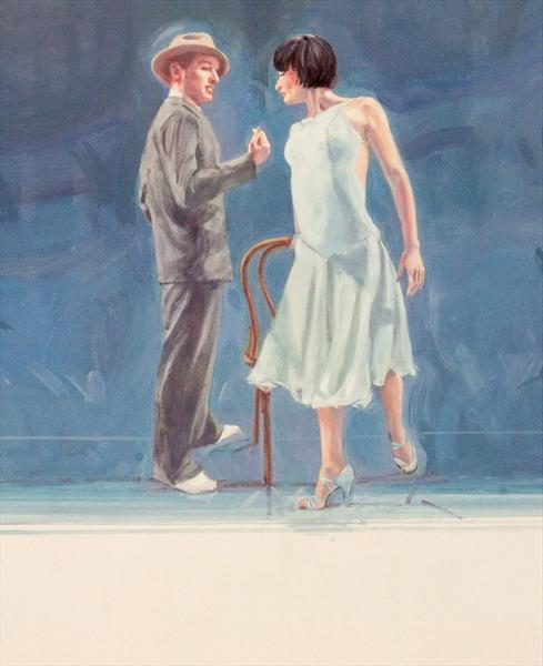 Midnight Tango (Oil Study 4) by Charles Willmott