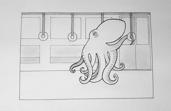 An Octopus's Commute by Luke Price