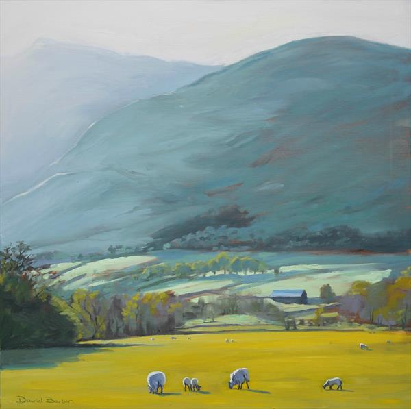 Evening at Blencathra by David Barber