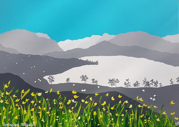 Springtime at Ullswater, The Lake District by Sam Martin