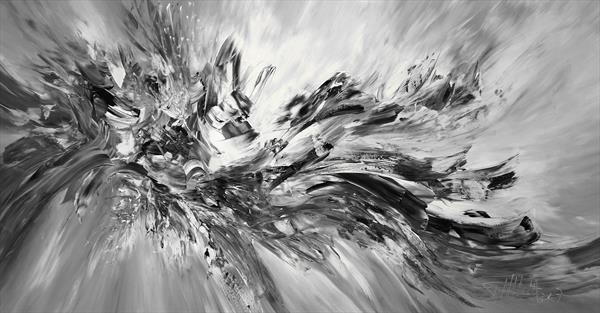 Black And White Move L 1 by Peter Nottrott