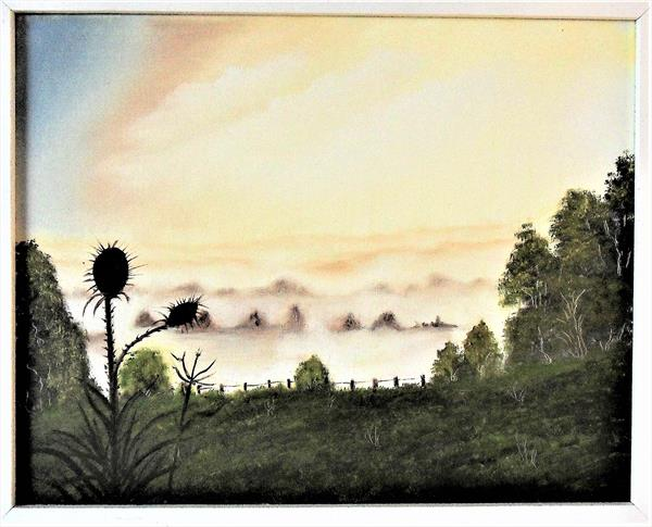 Misty Morning in the New Forest by Joanne Tharby-Hammond